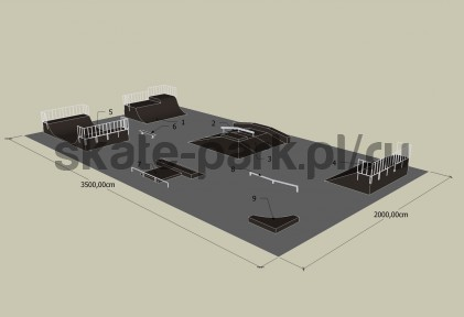 Sample skatepark 530809