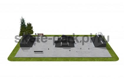 Skatepark modułowy OF2006034A1