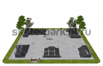 Skatepark modułowy OF2007171NW